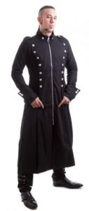 Herren-Mantel von Necessary Evil. Hose auch bei uns erhältlich